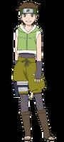 Wasabi Izuno (Genin - Render)