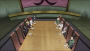 La reunión entre Konoha y Suna da comienzo