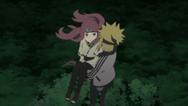 Minato salva Kushina