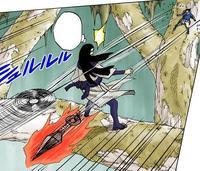 Moinho de Vento de Sasuke (Mangá Colorido)