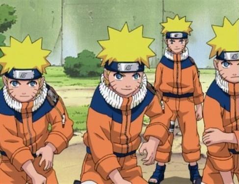 100 Gambar Naruto Seribu Bayangan Terlihat Keren