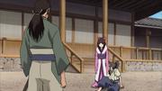 Chiyo manda Tatewaki parar o treino