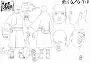 Diseño de Daibutsu hecho por Studio Pierrot
