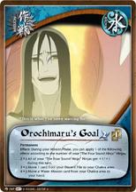Objetivo de Orochimaru ST