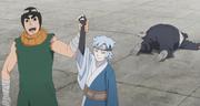 Toroi es derrotado por Mitsuki