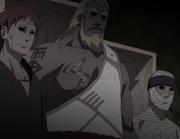 El Segundo Tsuchikage, el Tercer Raikage y el Cuarto Kazekage revividos por Kabuto