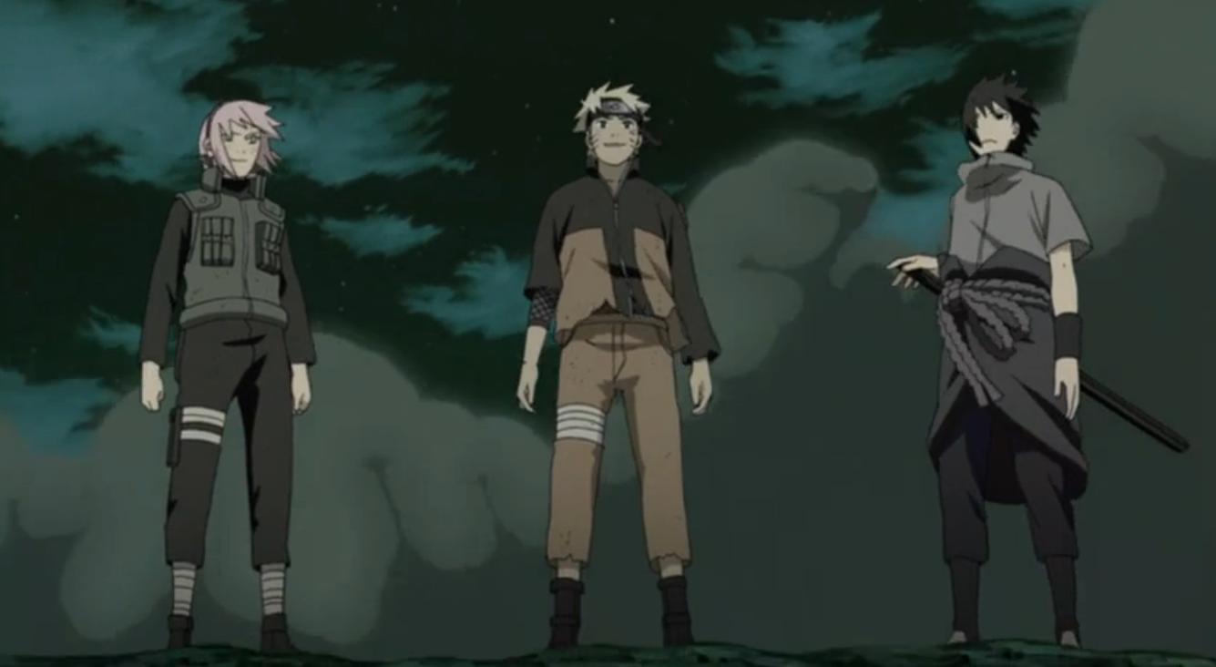 Imagen - Equipo 7 Cuarta Guerra Anime.png | Naruto Wiki | FANDOM ...