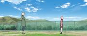 Sakura recuerda su entrenamiento con Tsunade