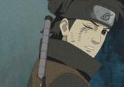 Shisui sin su ojo derecho