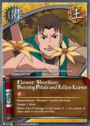 Shuriken Floral BP