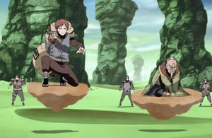 Suspensión del Desierto Anime