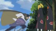 Deidara encuentra a Sasuke