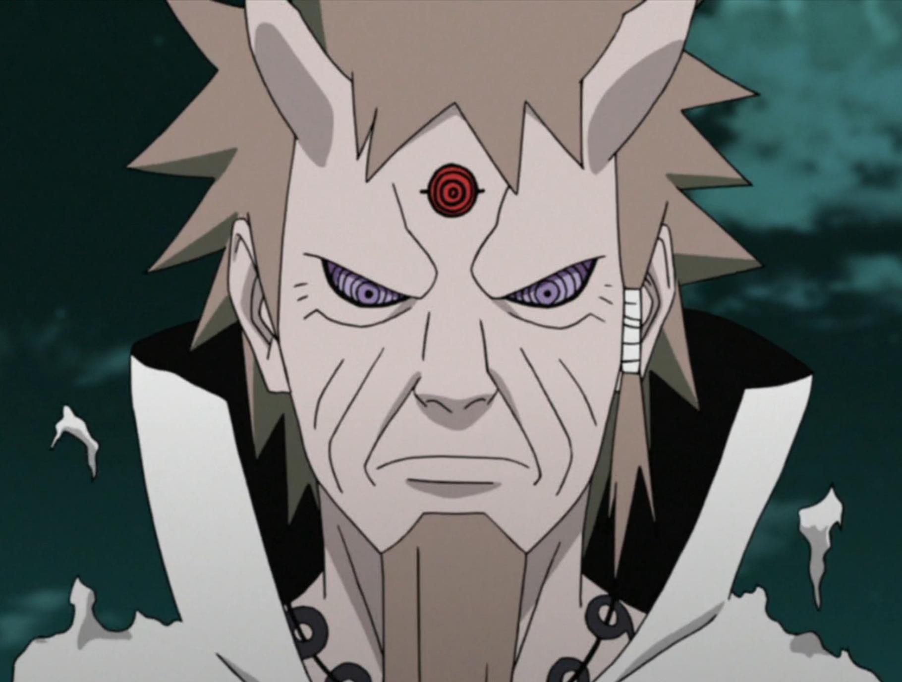 85 Gambar Naruto Rikudou Sennin Kyuubi Rinnegan Paling Keren