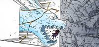 Projétil Relâmpago do Dragão de Água Mangá Colorido