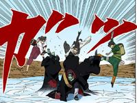 Técnica do Clone de Água (Kisame-Mangá)