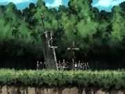 Zabuza and Haku's grave
