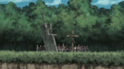 Zabuza and Haku's grave