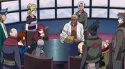 Decyzja Pięciu Kage Anime