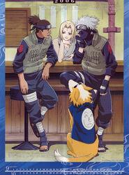 Naruto Calendario 2006 Septiembre-Octubre Versión B