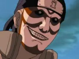 Shinobi Resucitado de cara pintada de Sunagakure