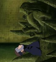 Yamato introducido al Cuerpo Artificial de Hashirama