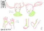 Diseño de Naruto Modo Kurama II por Pierrot