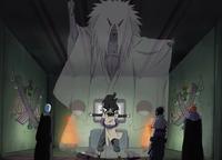 Invocação do Shinigami (Orochimaru)