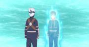 Kakashi e Obito se despedem