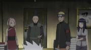 Kakashi le entrega el reloj de la destrucción de la Tierra a Shikamaru