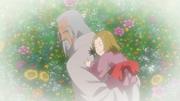 O amor de Hotaru por seu avô