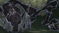 Darui ataca um Zertsu
