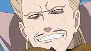 Gengetsu, sonríe mientras esta siendo sellado