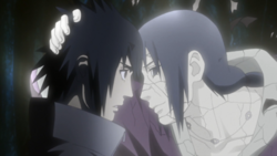 Itachi dice addio a sasuke