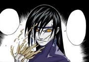 Orochimaru se revela (Mangá Colorido)