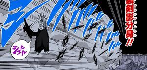 Clon de Sombra de Fūma Shuriken Manga