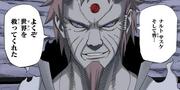 Hagoromo le da las gracias a Naruto y a Sasuke por haber salvado el mundo