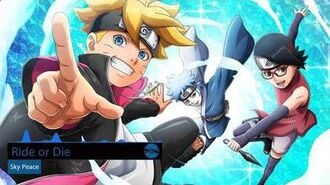 Boruto Naruto Next Generations Ending 9 Full Ride or Die - Sky Peace