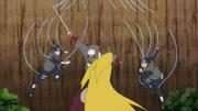 Estilo de la Nube Decapitación Inversa Anime