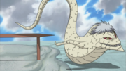 Kabuto na sua forma de Cobra