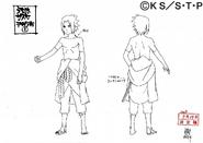 Arte Pierrot - Sasuke Hebi3