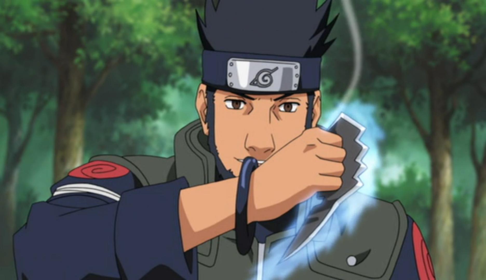 Image   Asuma With His Chakra Blades.PNG   Narutopedia ...