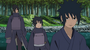 Izuna surpreso por Hashirama ser mais forte que Madara