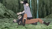 Sasuke bate em Naruto