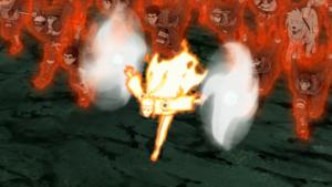 Elemento Viento Rasenrenshuriken Anime