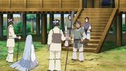 Kaguya é colocada sob interrogatório