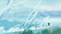 Liberação de Água - Técnica da Grande Cachoeira (Kakashi)