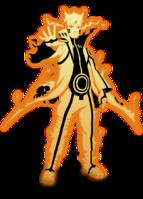 Naruto Modo Kurama