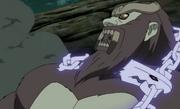 Son Gokū atrapado por las Cadenas de Chakra