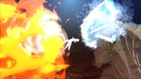 Técnica do Grande Combo de Cinco Elementos (Hiruzen - Game)