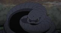 Aoda invocado por Sasuke